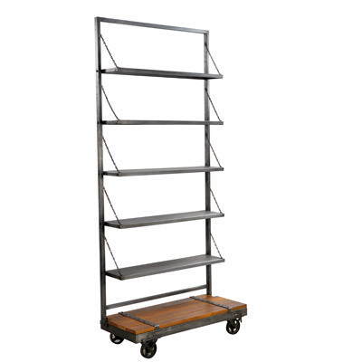 Hazenkamp INDUSTRIAL * Display Trolley 100x45x230 cm