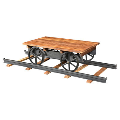 Hazenkamp INDUSTRIAL * Coffee Table Rail One 201x72x48 cm