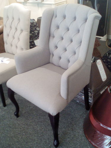 Hazenkamp Birmingham Arm Chair 66x81x107cm Fabric Mauve Moon SHOWROOM