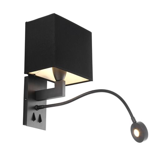 EICHHOLTZ Wall Lamp Reading * Bronze finish | flexible LED reading light