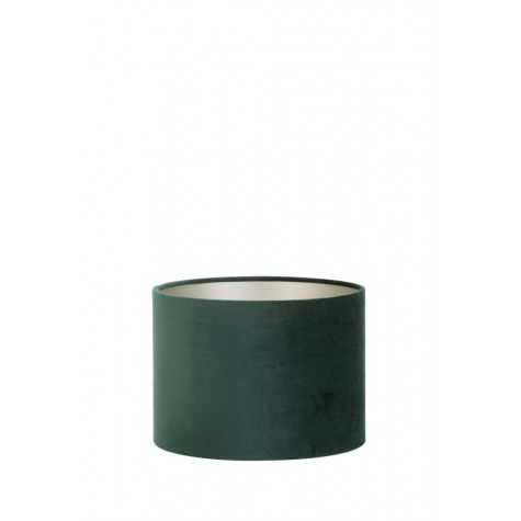 Light & Living Lampenschirm Zylinder 30-30-21 cm VELOURS dutch green