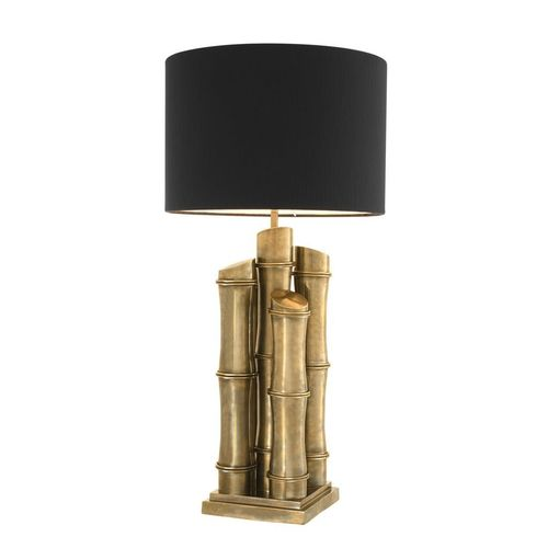 EICHHOLTZ Table Lamp Damian * Vintage brass finish