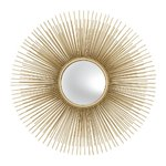 EICHHOLTZ Mirror Solaris S * Gold finish | convex mirror