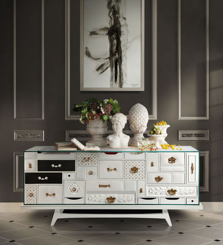 BOCA DO LOBO * SIDEBOARD Mondrian * in stock *
