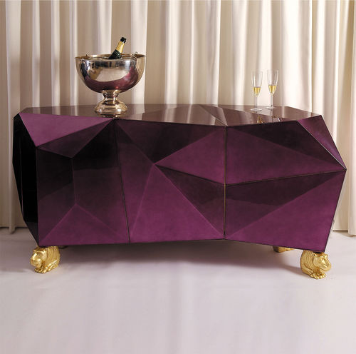 BOCA DO LOBO * SIDEBOARD Diamond * Amethyst
