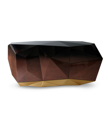 BOCA DO LOBO * SIDEBOARD Diamond * Chocolate * in stock *