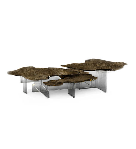 BOCA DO LOBO * Monet Patina CENTER TABLE * in stock *