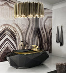 BOCA DO LOBO * Diamond BATHTUB