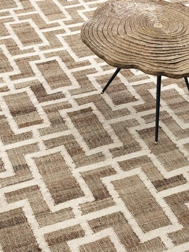 EICHHOLTZ Carpet Calypso 300x400cm * Natural jute | wool blend