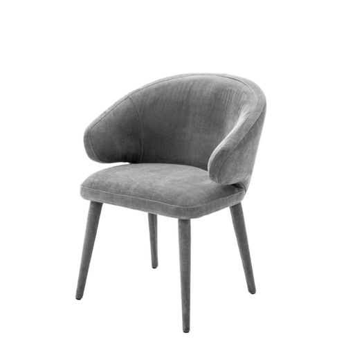 Eichholtz Dining Chair Cardinale * Clarck grey | upholstered legs