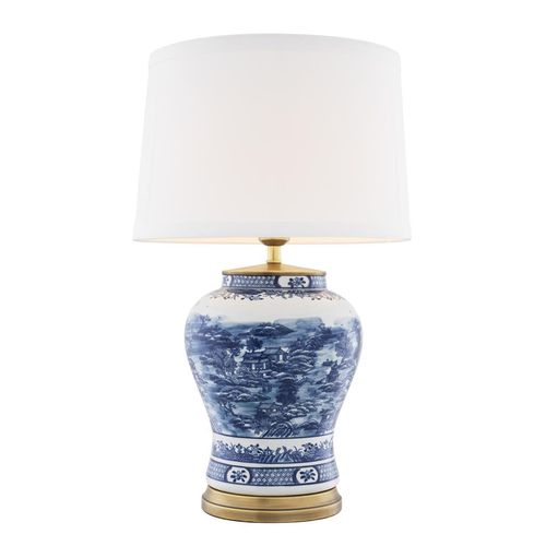 Eichholtz Table Lamp Chinese Blue