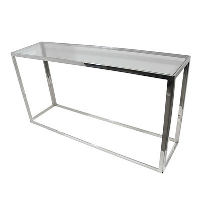 Hazenkamp Table Clear Glass 150x40x78cm