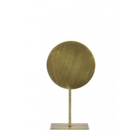 Light & Living Ornament auf Fuss Ø25x45 cm BASIM antik bronze
