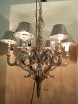 Hazenkamp * XL - Ceiling Lamp 6 Lights incl. METALL Shades * SHOWROOM Bad Ems