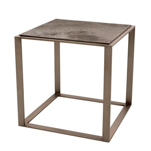 Eichholtz Side Table Zino * Rose bronze finish