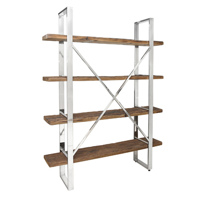 Hazenkamp Bookshelve natural 152x35,5x198cm