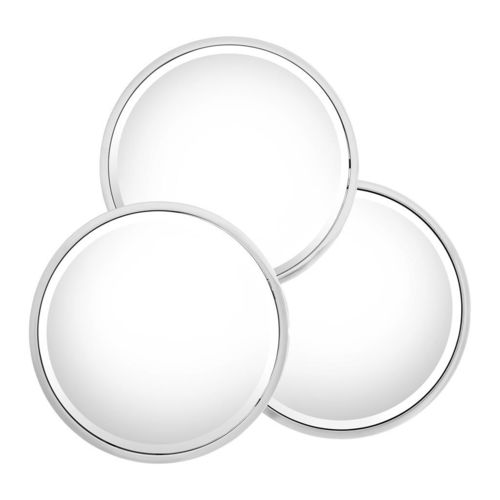 Eichholtz Mirror Sensation Round * Polished stainless steel | bevelled mirror glass