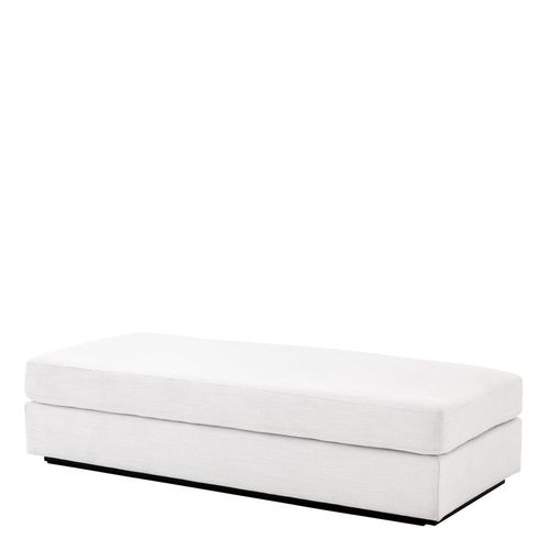 Eichholtz Ottoman Vista Grande * Avalon white | black base