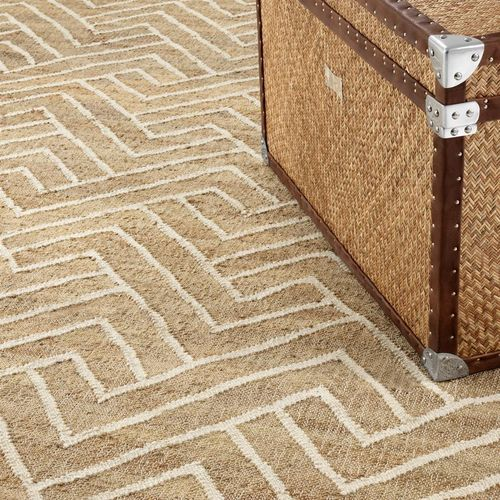 EICHHOLTZ Carpet Sazerac 300 x 400 cm * Natural & white