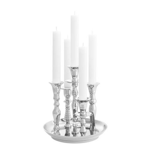 EICHHOLTZ Candle Holder Rosella * Nickel finish