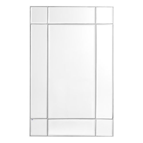EICHHOLTZ Mirror Beaumont * Nickel finish | bevelled mirror glass