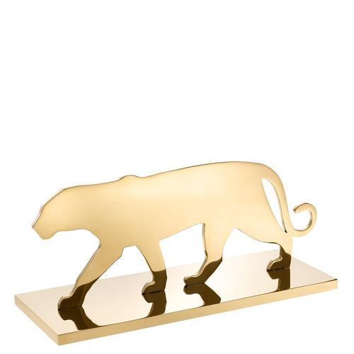 EICHHOLTZ Object Panther Silhouette * Brass plated