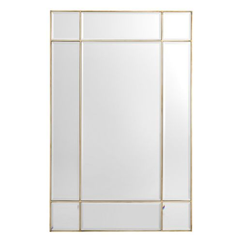 EICHHOLTZ Mirror Beaumont * Vintage brass finish | bevelled mirror glass