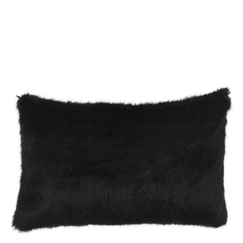EICHHOLTZ Scatter cushion Alaska * Black faux fur