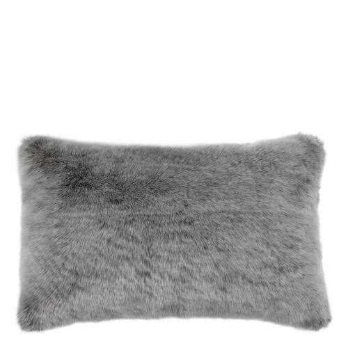 EICHHOLTZ Scatter cushion Alaska * Grey faux fur