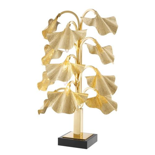 EICHHOLTZ Table Lamp Donati * Polished brass | granite base