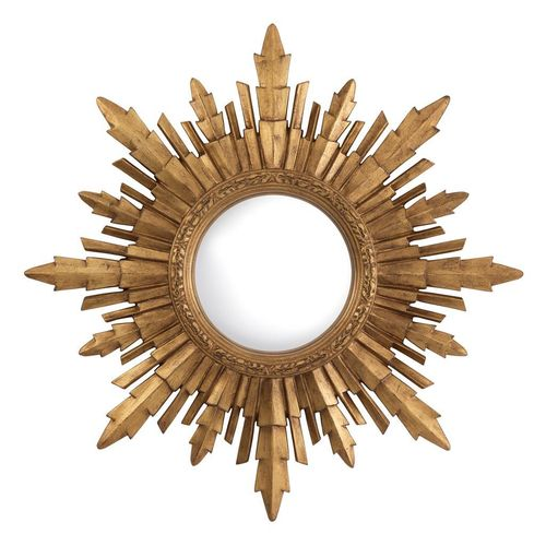 EICHHOLTZ Mirror Bahia * Antique gold finish | convex mirror