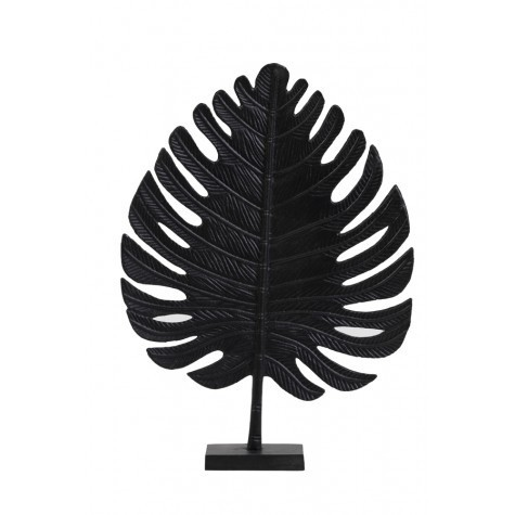 Light & Living Ornament 39x54 cm LEAF schwarz
