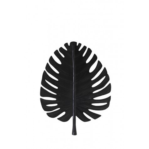Light & Living Wand ornament 32x40 cm LEAF schwarz