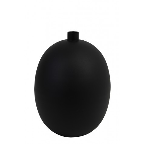 Light & Living Vase deco Ø30x42 cm BINCO matted black