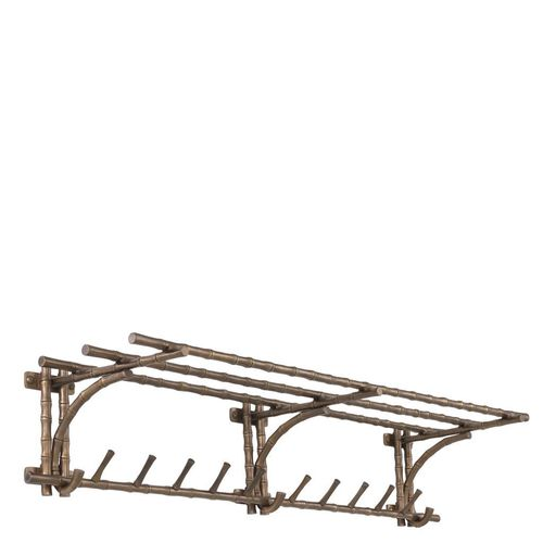 EICHHOLTZ Coatrack Haiti L * Vintage brass finish