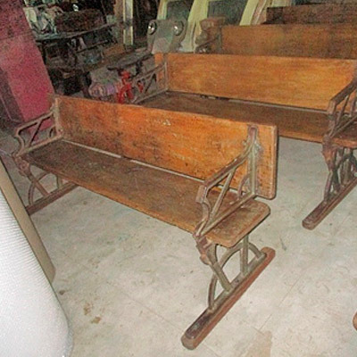 Hazenkamp * Industrial Furniture * Iron & Wooden Bench