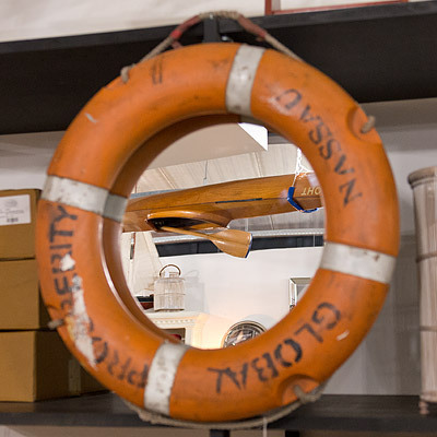 Hazenkamp * Industrial Furniture * Rescue Ring 75x75x9 cm