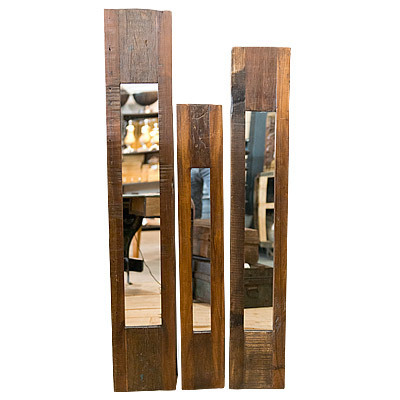 Hazenkamp * Industrial Furniture * Mirror set of 3 26x148x3 cm