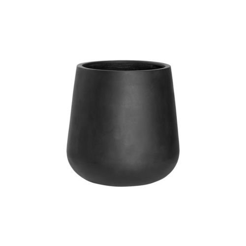 Pottery Pots * Essentials Fiberstone * Pax M * black