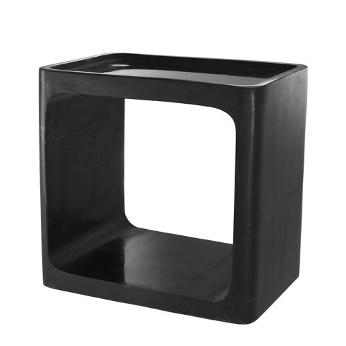EICHHOLTZ Side Table Vesuvio * Black marble