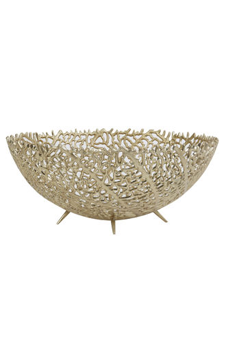 Light & Living 6323985 - Schale Ø46x18 cm GALAXA antik gold