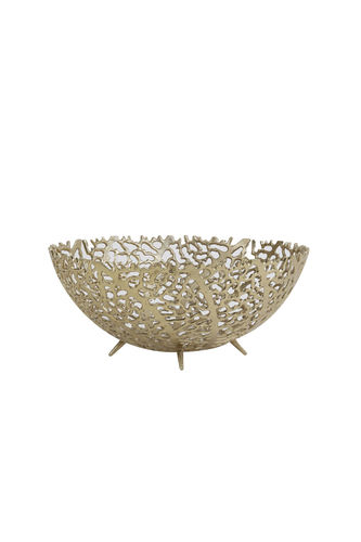 Light & Living 6323885 - Schale Ø35,5x14 cm GALAXA antik gold