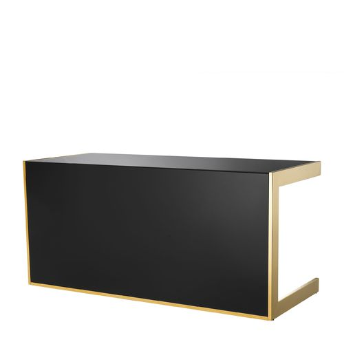 EICHHOLTZ Desk Cosmo * Mirror glass | gold finish