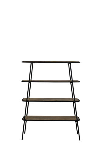 Light & Living 6743384 - Stellage 4L 120x35x165 cm COLAVI holz schwarz