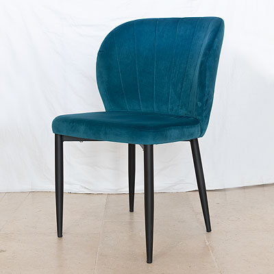Hazenkamp Side Chair Shelly BL85 Legs B lack