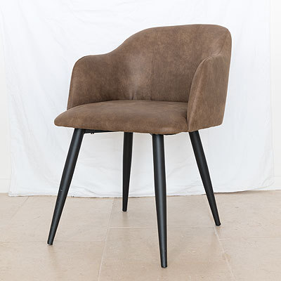 Hazenkamp Arm Chair Danez Yuma38 Legs Black