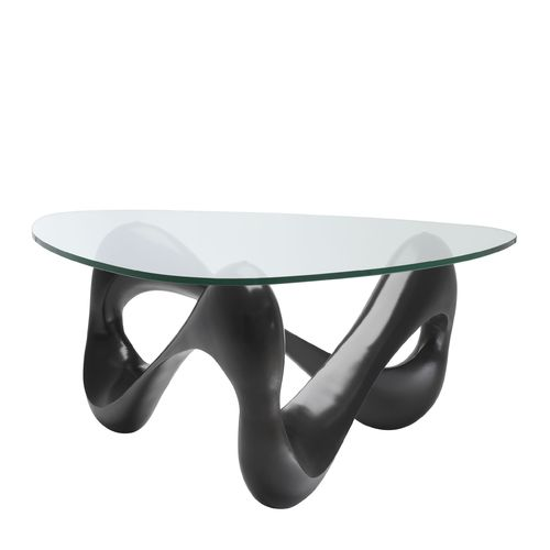 EICHHOLTZ Coffee Table Aventura * Bronze finish | clear glass