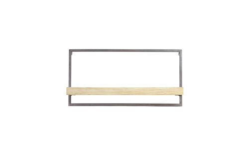Light & Living 6980184 - Wand regale 30x15x60 cm MADDISON holz naturell