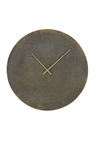 Light & Living 7107618 - Uhr Ø74 cm NURRAN Textur antik Bronze