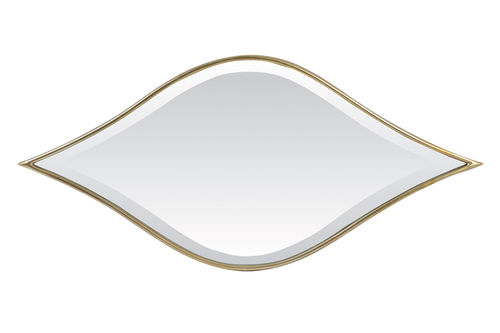 Light & Living 7310785 - Spiegel 89x2,5x41,5 cm MARRAK hell gold